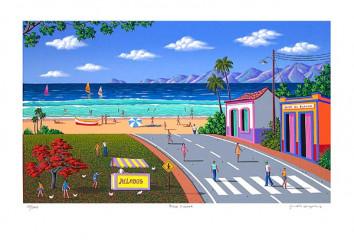 Playa pintada