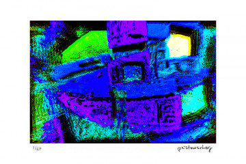 The blue Robot